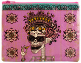 Day Of The Dead Zipper Pouch Zipper Pouch
