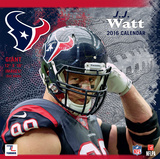 Houston Texans J.J. Watt - 2016 Wall Calendar Calendars