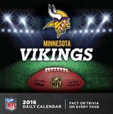 Minnesota Vikings - 2016 Boxed Calendar Calendars