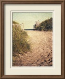 First Encounter Beach Framed Photographic Print by Jennifer Kennard
