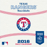 Texas Rangers - 2016 Boxed Calendar Calendars