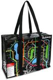 Subway Shoulder Tote Tote Bag