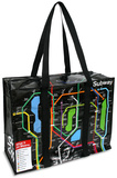 Subway Shoulder Tote Sacola