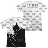Batman The Animated Series- Large Silhouette (Front/Back) Shirts