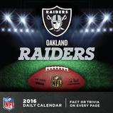 Oakland Raiders - 2016 Boxed Calendar Calendars