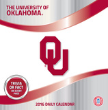 Oklahoma Sooners - 2016 Boxed Calendar Calendars