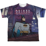 Youth: Batman The Animated Series- Roof Top Shirt
