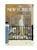 The New Yorker Cover - October 19, 2015 Regular Giclee Print by Adrian Tomine
