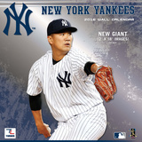 New York Yankees - 2016 Wall Calendar Calendars