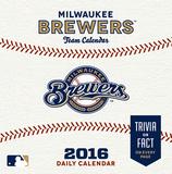 Milwaukee Brewers - 2016 Boxed Calendar Calendars