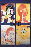 The Beatles- 4 Faces Posters