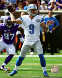 Matthew Stafford 2015 Action Photo