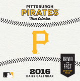 Pittsburgh Pirates - 2016 Boxed Calendar Calendars