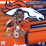 Denver Broncos - 2016 Wall Calendar Calendars