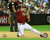 Aaron Hill 2015 Action Photo