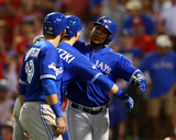Division Series - Toronto Blue Jays v Texas Rangers - Game Three Photo by Ronald Martinez