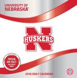 Nebraska Cornhuskers - 2016 Boxed Calendar Calendars