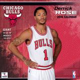 Chicago Bulls Derrick Rose - 2016 Wall Calendar Calendars