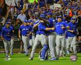 Toronto Blue Jays celebrate the Blue Jays winning the 2015 American League East Division Photo