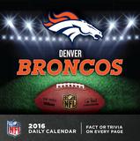 Denver Broncos - 2016 Boxed Calendar Calendars