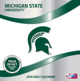 Michigan State Spartans - 2016 Boxed Calendar Calendars
