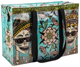 Day Of The Dead Shoulder Tote Borsa shopping