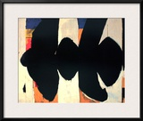 Elegy to the Spanish Republic 34 Poster by Robert Motherwell