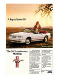 1984 Mustang GT 20th Posters