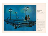 1966 GM Pontiac Grand Prix Poster