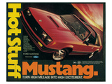 1981 Mustang - Hot Stuff Posters