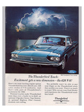 1966 Thunderbird-The 428 V-8 Posters