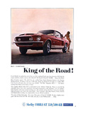 1968 Mustang King of the Road Posters
