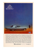 1965 Thunderbird Luxury Travel Posters
