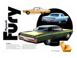 1972 Plymouth Fury III II & I Prints