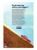 1966 Mustang - a Real Stopper Posters