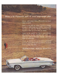 1961 Plymouth - Solid Beauty Posters