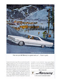 1966 Mercury - Point it Uphill Prints