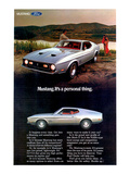 1971 Mustang - Personal Thing Posters