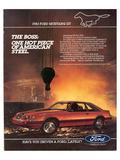 1983 Mustang American Steel Art