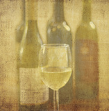 Wine Vignette III Print by Eric Elliott