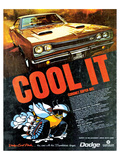 1969 Coronet Super Bee-Cool It Póster