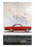 1964 Mercury - Comet Cyclone Posters