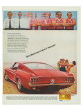 1968 Mustang Makes It Happen Posters
