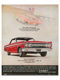 1964 Mercury - Comet Leap Year Prints
