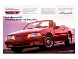 1989Mustang-To Look Forward To Print