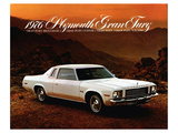 1976 Plymouth Gran Fury Art