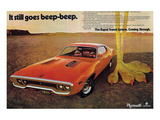 1971 Chrysler Plymouth 383 Posters