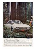 1962 Thunderbird Hush Poster
