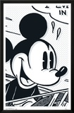 Mickey Mouse - Art Deco Posters