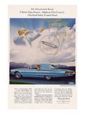 1966 Thunderbird Pilot Control Prints